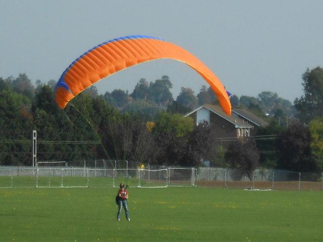 Man with kite, Northwick Park