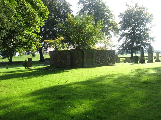 The cemetery at St. John's Kirk
