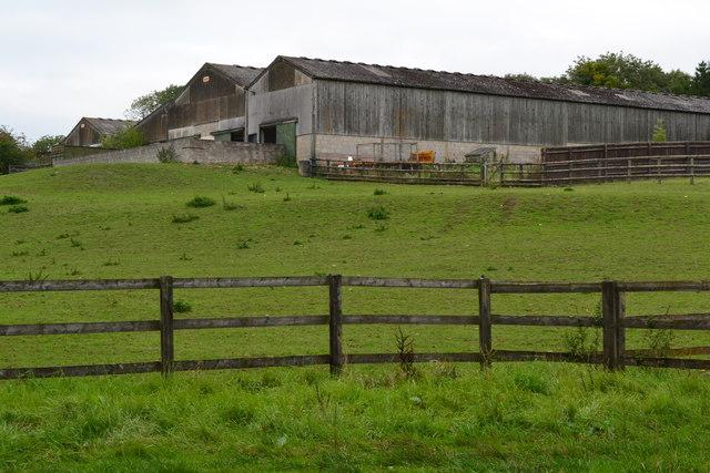 Farm buildings at Elevage Breton