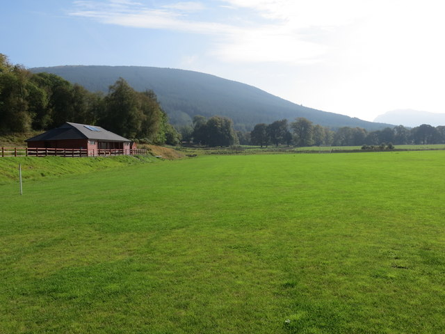 New pavilion at Strachurmore playing field