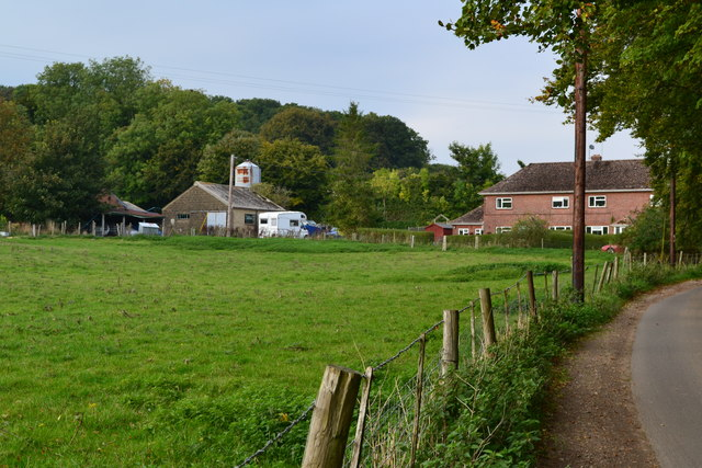 Looking towards Warren Court Farm