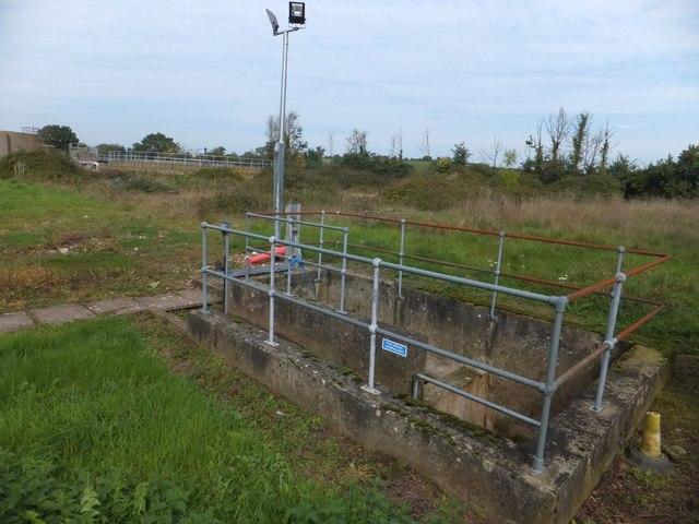 Part of Colyton sewage works