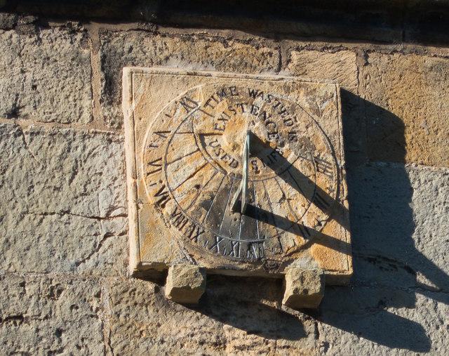 Sundial at St Mattews