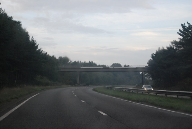 Bridge over the A338