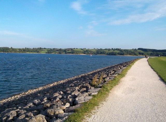 Water's Edge and Path at Carsington