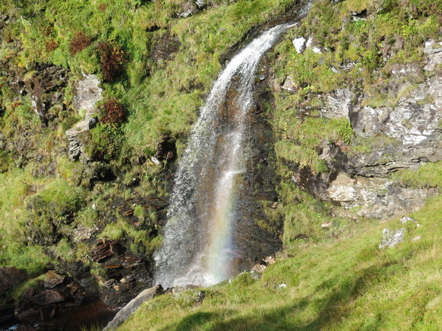 Waterfall at Eas an Fhithich