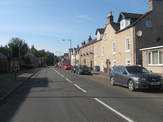 Houses at Kirkfieldbank