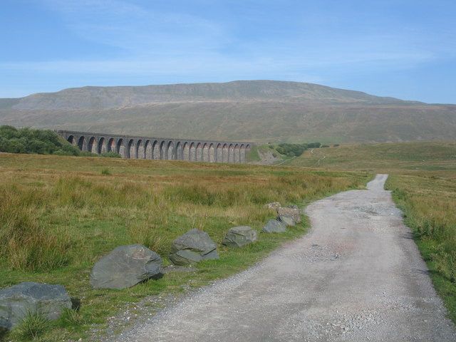 Path to the Ribblehead Viaduct