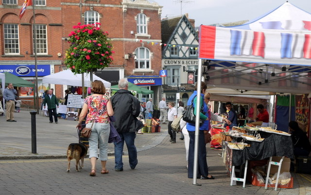 French market at Ross-on-Wye