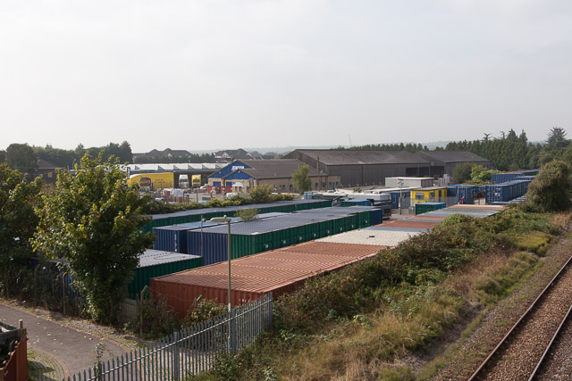 Container Storage on Toynbee Road