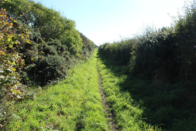 Public Path to Gallowhill
