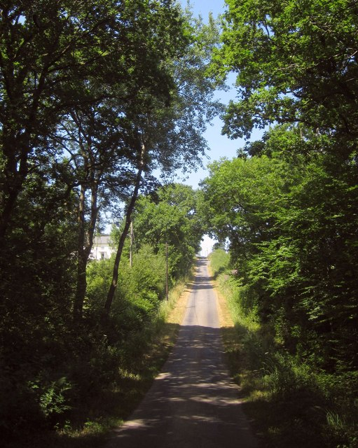 Lane to Thornham Chapel