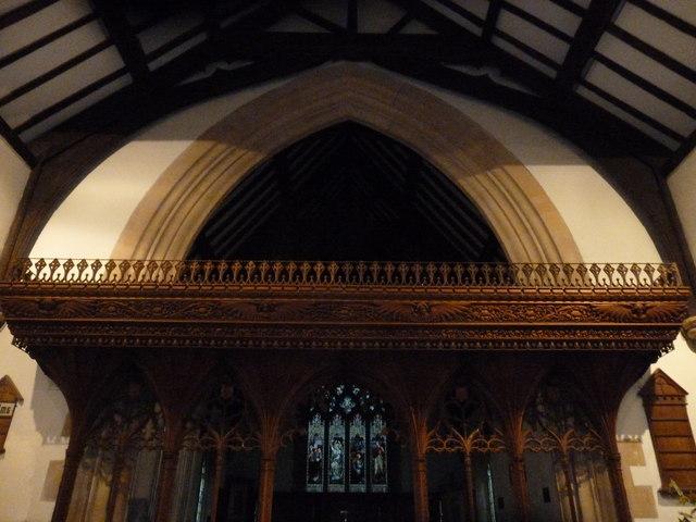Inside St Aldhelm, Bishopstrow (B)