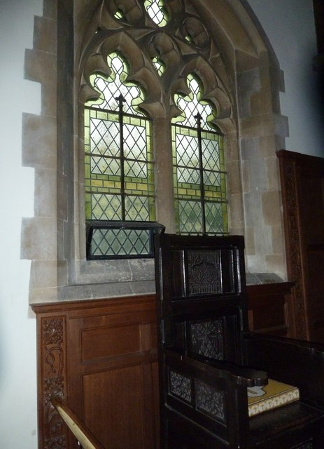 Inside St Aldhelm, Bishopstrow (C)