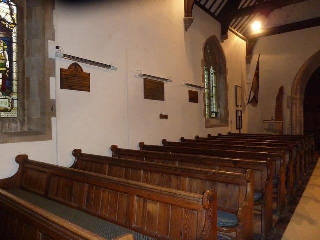 Inside St Aldhelm, Bishopstrow (H)