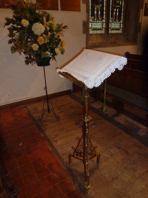 St Aldhelm, Bishopstrow: lectern