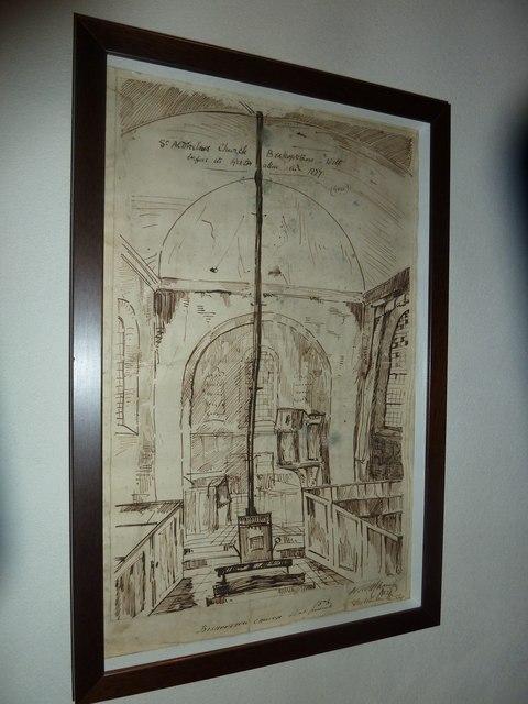 St Aldhelm, Bishopstrow: artwork (ii)