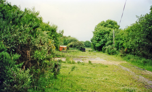 Site of High Westwood station