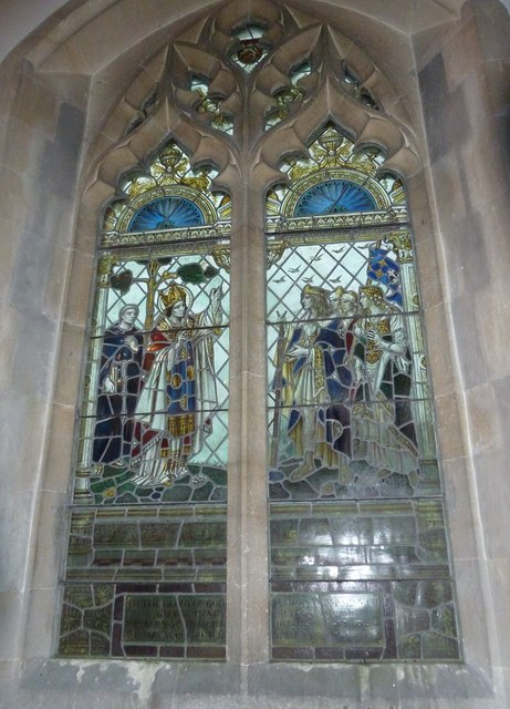 St Aldhelm, Bishopstrow: stained glass window (i)