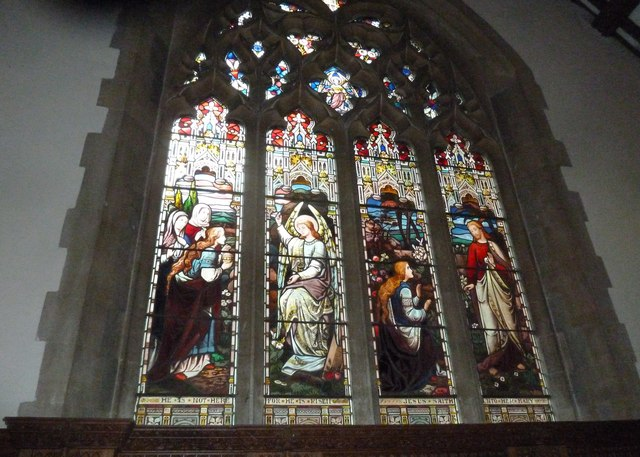 St Aldhelm, Bishopstrow: stained glass window (ii)