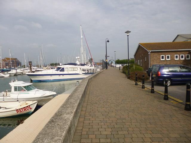 Weymouth, Harbourside Walkway