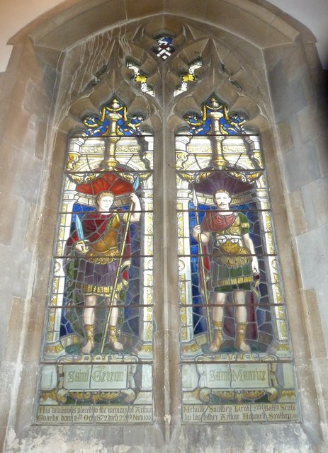 St Aldhelm, Bishopstrow: stained glass window (iv)