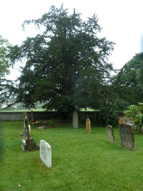 St Aldhelm, Bishopstrow: graves