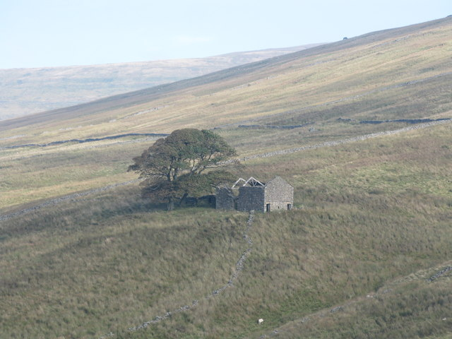 Ruined Barn on the slopes of Wold Fell