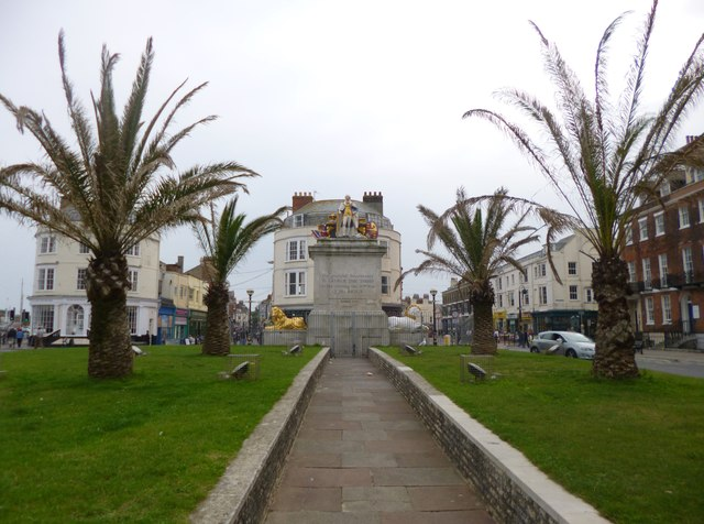 Weymouth, King's Statue