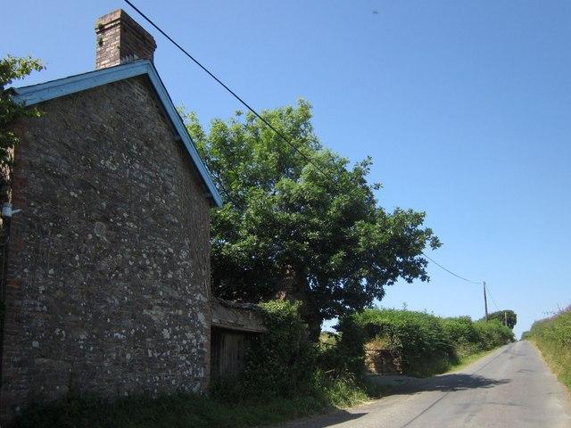 Lane past Thornham Cottage