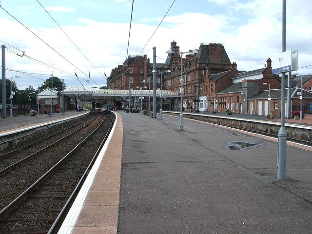 Ayr railway station, Ayrshire
