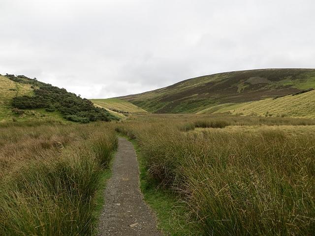 Green Cleugh path