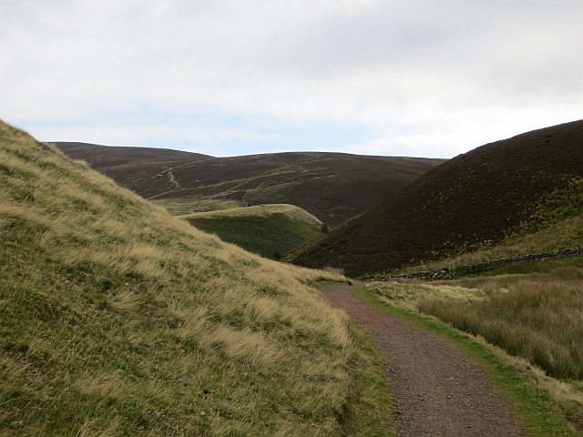 Green Cleugh path