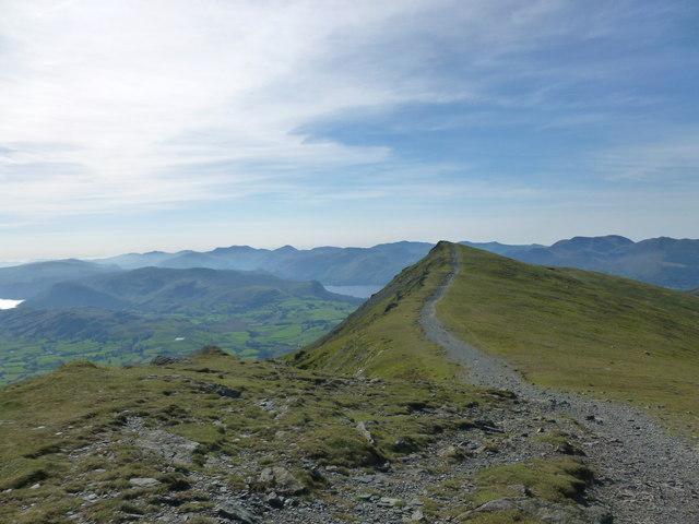Summit of Gategill Fell