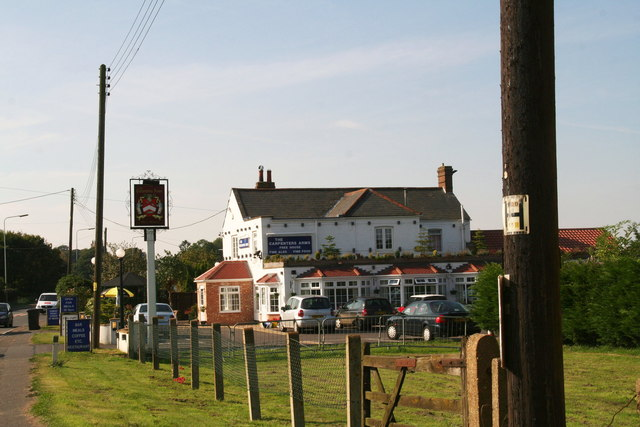 Carpenter's Arms by the A47 in East Winch