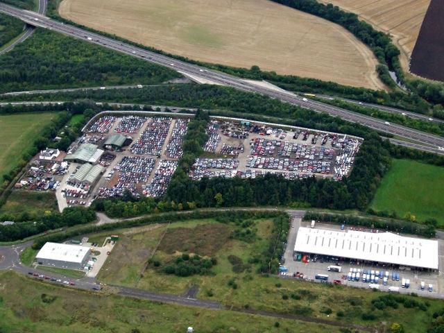 Newbridge South from the air