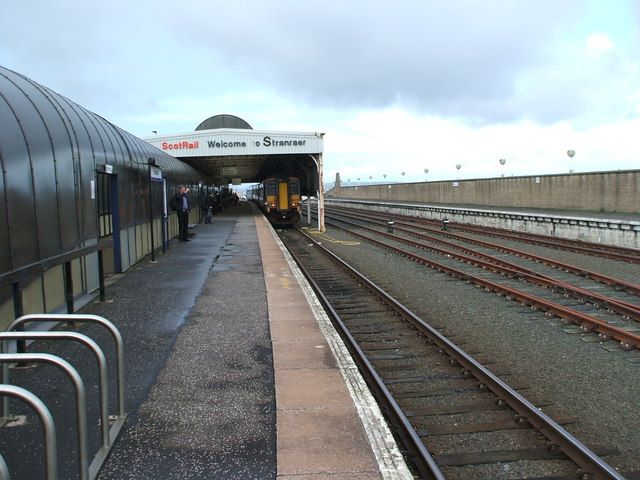 Stranraer Harbour railway station