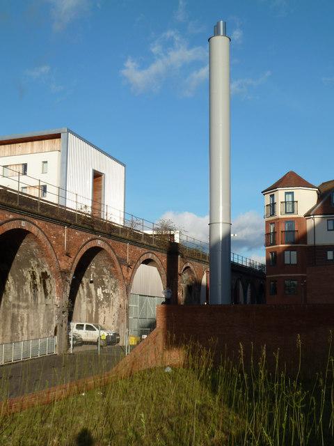 New chimney - Worcester