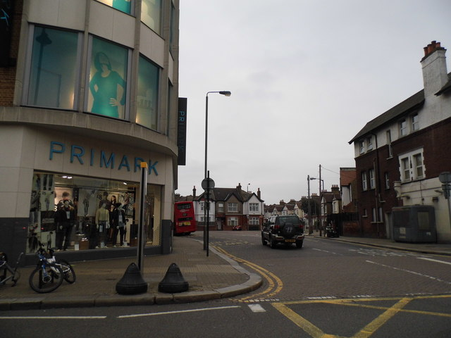 Longmead Road at the junction of Mitcham Road, Tooting