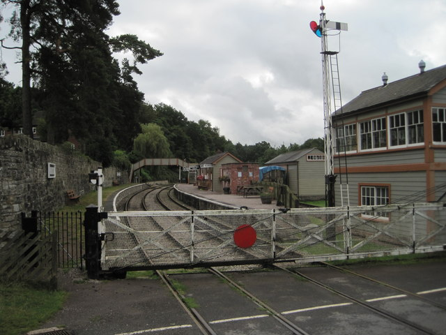 Parkend railway station, Gloucestershire