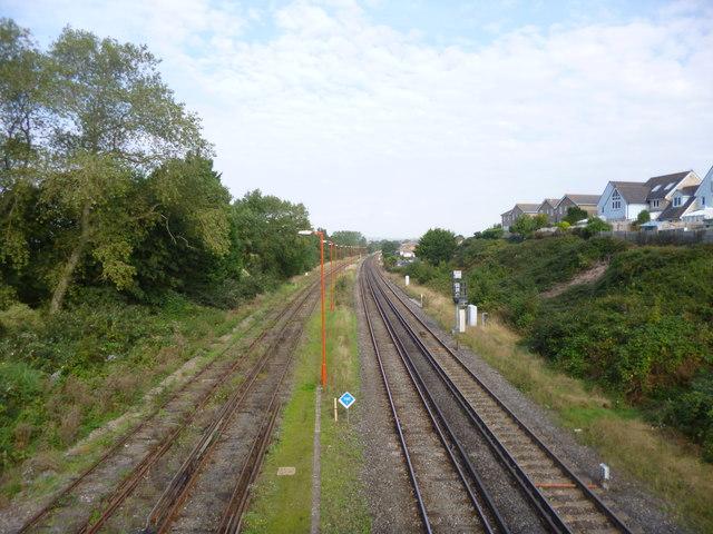 Weymouth, railway lines