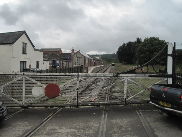 Whitecroft railway station, Gloucestershire