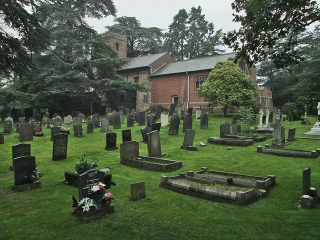 Edwalton Church and churchyard