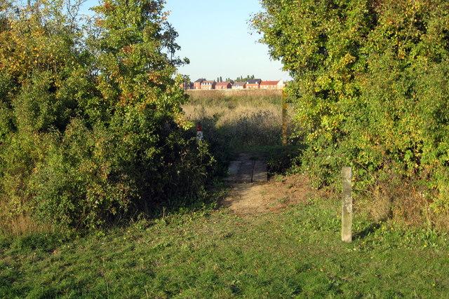 Footpath into Kempston