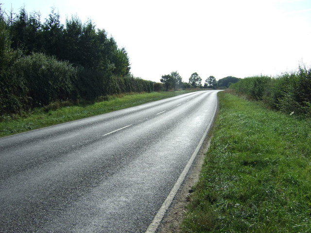 A153 heading south west