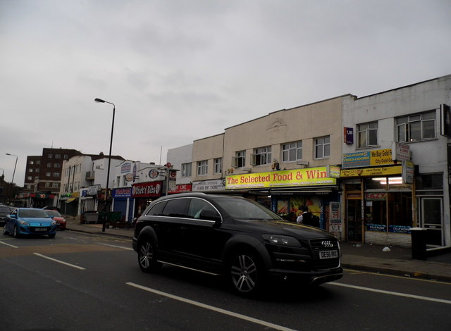 Shops on Mitcham Road, Tooting