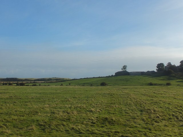 Farmland near Hoppen Hall