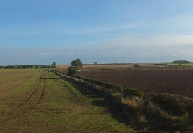Farmland near Low Middleton