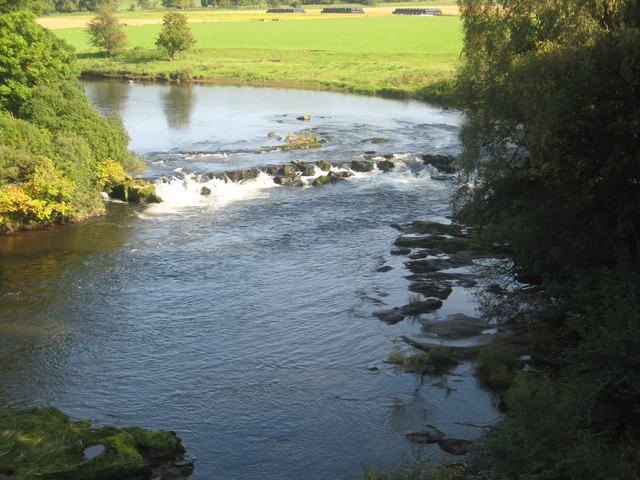 Clyde's Mill Falls near Milton-Lockhart