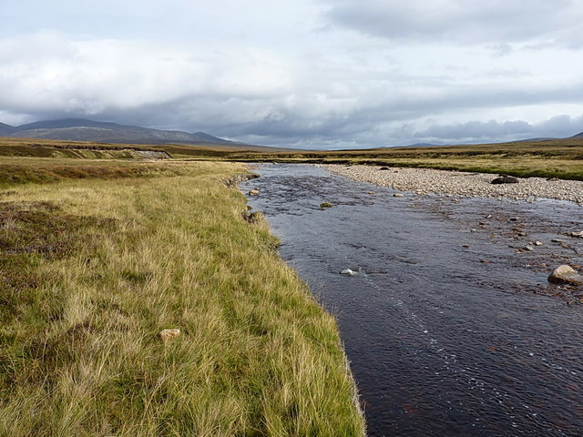 The upper River Feshie